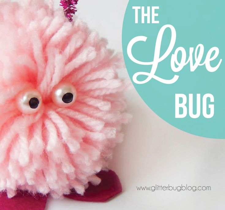 Because everyone could use a love bug. | DIY Love Bug