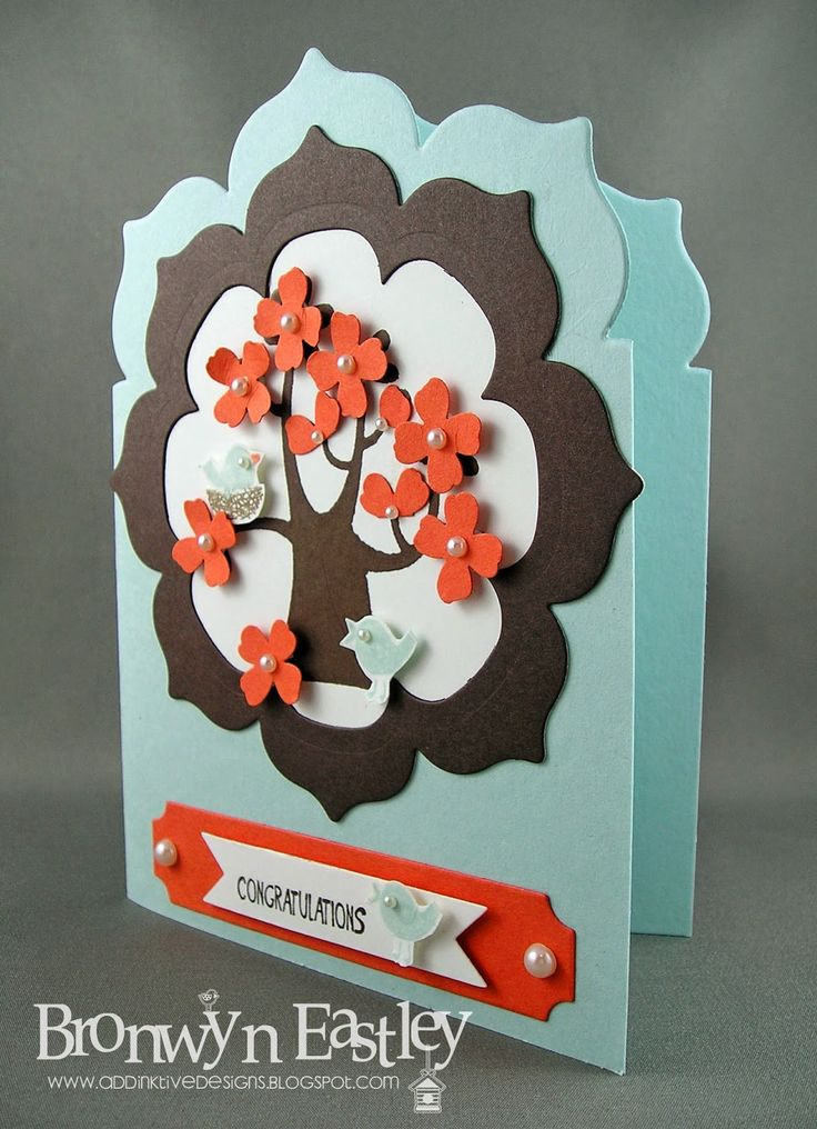 Stampin' Up! ... handmade card from addINKtive designs ... card with top