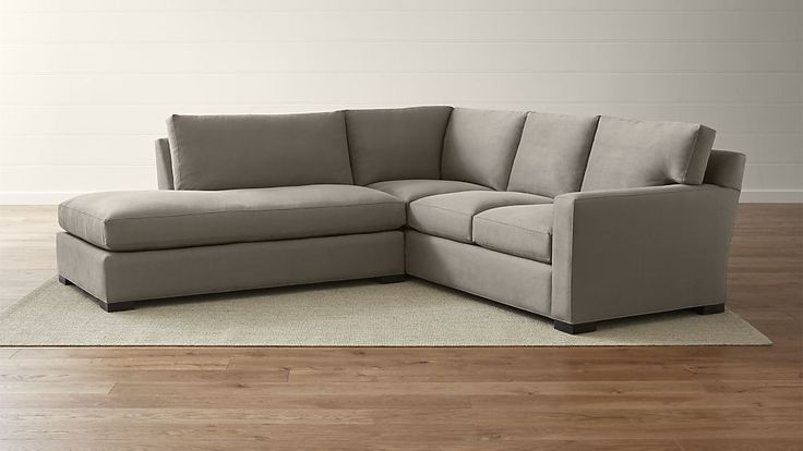 Axis II 2-Piece Left Bumper Sectional Sofa | Crate and Barrel