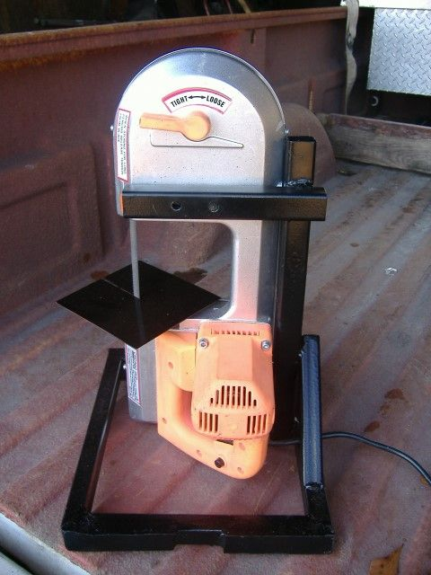 Harbor Freight portable band-saw stand. Find best manufacturing equipment that suits your need and SAVE more!! Click here http://www.coastmachinery.com