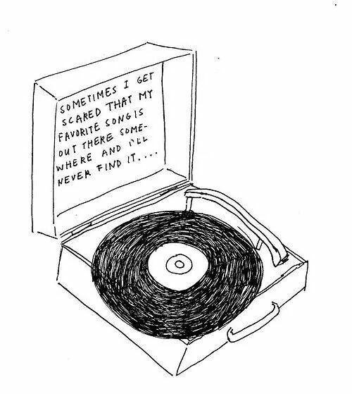 Vinyl Record Player Music