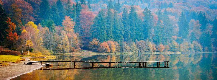 Lacul Sfanta Ana, #Romania #Harghita #LaculSfantaAna #DescoperaRomania #Excursii #Vacanta #ObiectiveTuristice #ShiftTour #Travel #Holiday  Acesta este singurul #lacvulcanic din Romania, format in craterul vulcanului Ciomatu Mare, din judetul Harghita. Cu o lungime de 620 m si o latime de 460 m, acest #lac unic din tara noastra iti ofera o #priveliste #rapitoare si o apa limpede si curata precum cristalul. De altfel, se spune despre ea ca se apropie de puritatea celei distilate…