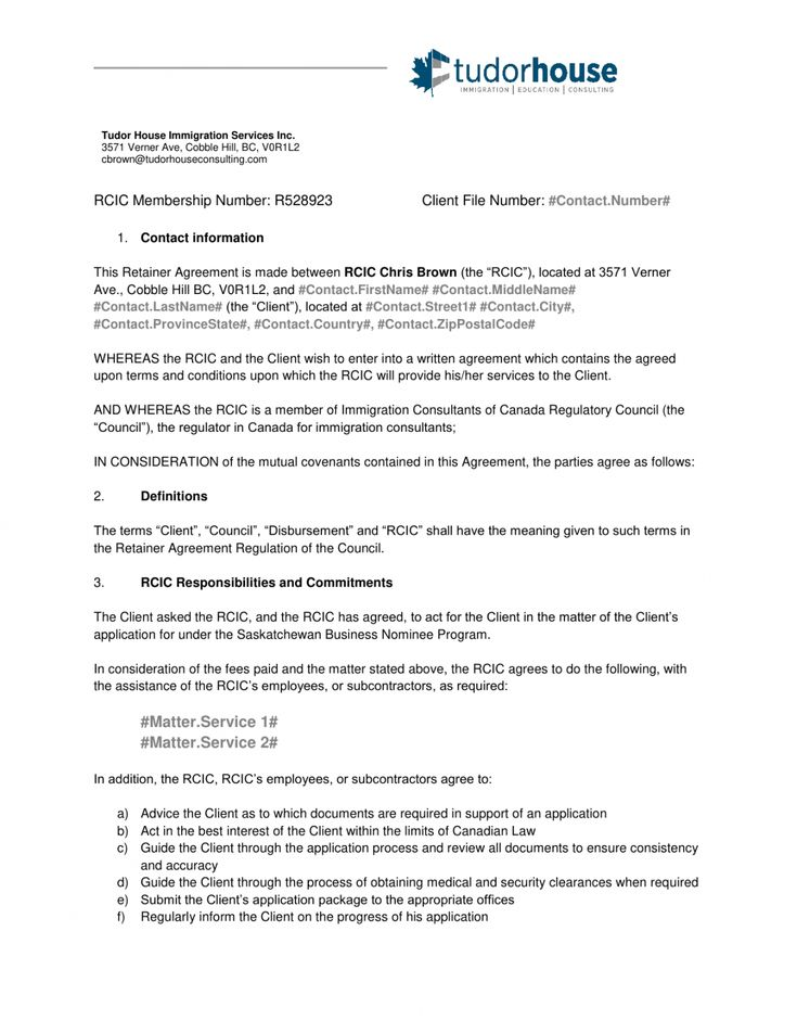 Consulting Retainer Proposal Template in 2020 Proposal