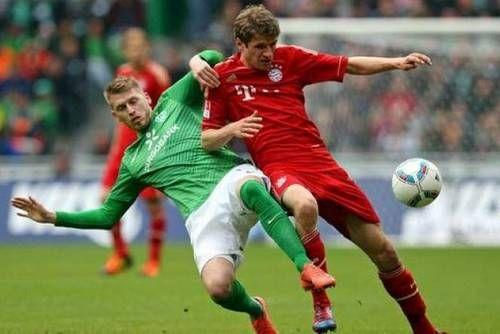 Dự đoán tỷ số trận Werder Bremen vs Bayern Munich: 1-4
