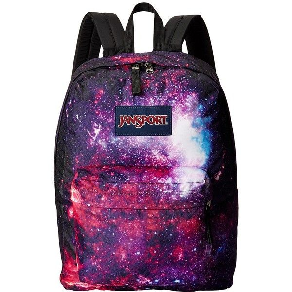 JanSport High Stakes Backpack Bags found on Polyvore featuring bags, backpacks, backpack, accessories, pocket bag, pocket backpack, purple backpack, knapsack bags and backpacks bags