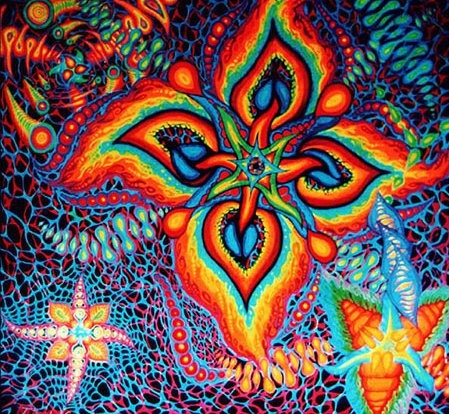 psychedelic 4 WINDS - COMPASS headings ...butterfly wings for creating the butterfly EFFECT