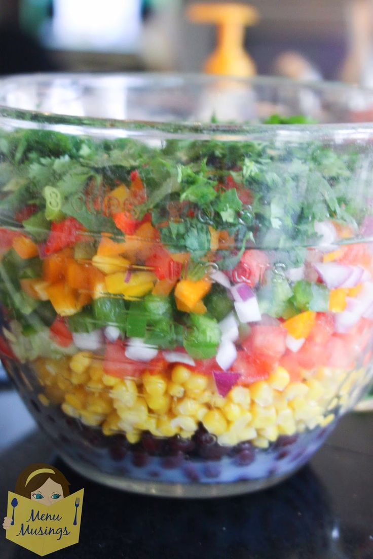 Menu Musings of a Modern American Mom: Black Bean and Corn ...