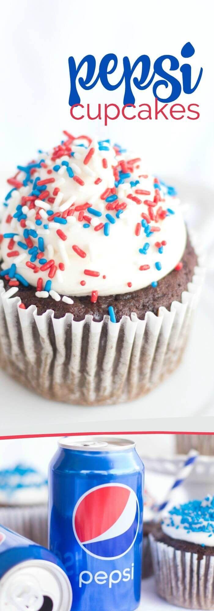 Pepsi Cupcakes