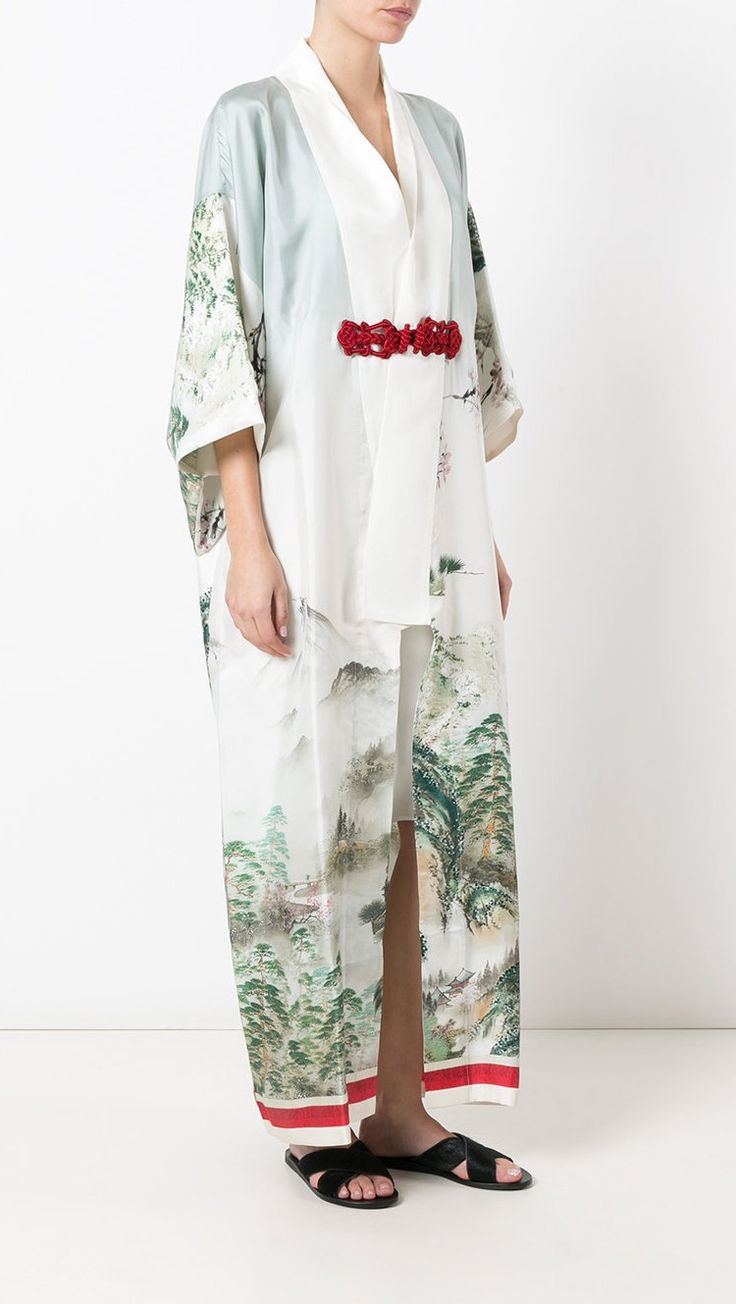 F.R.S FOR RESTLESS SLEEPERS kimono dress, shop now at Farfetch.
