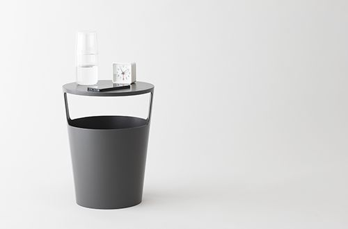 Japanese product design: An ordinary home staple, adapted into a functional yet intriguing, space saving object.