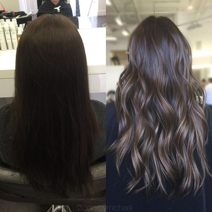 "795 Likes, 23 Comments - Orange County Hair Colorist (@colorbymichael) on Instagram: ""Dimensional ✨ Brunette"""
