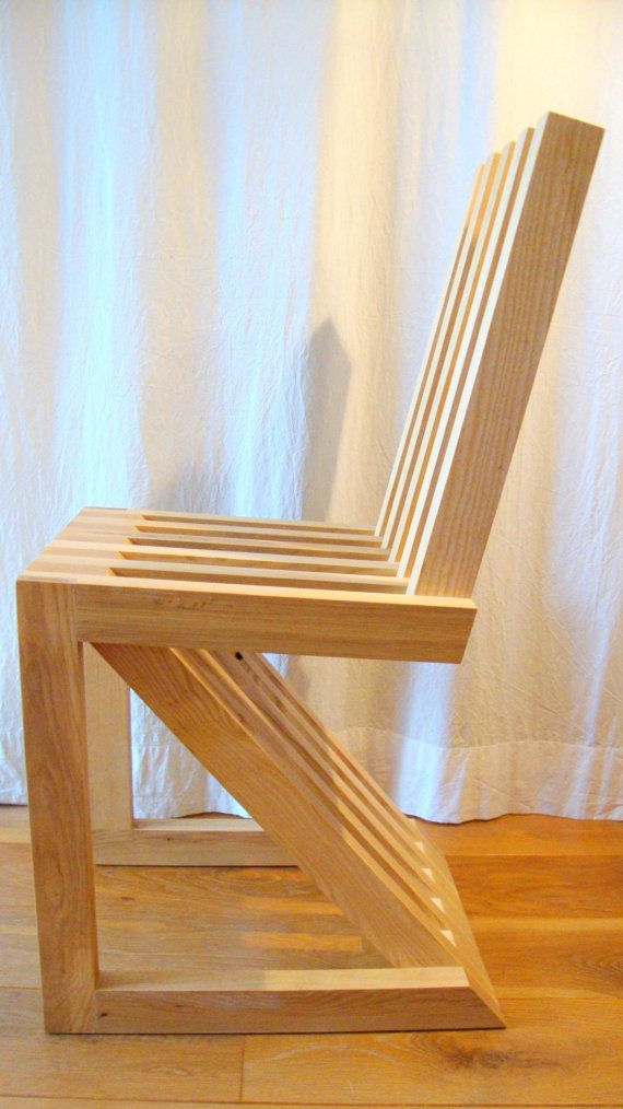 wooden chair HS2 ashwood fsc certified by MAURITSDINGELDEIN