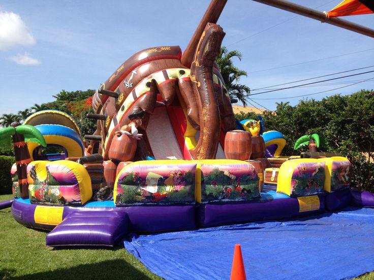 Pirate Inflatable Bounce House