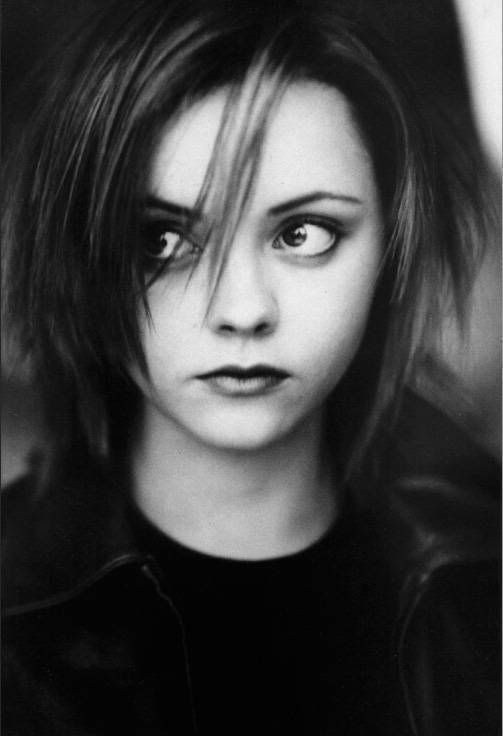 Wide Eyed Christina Ricci.