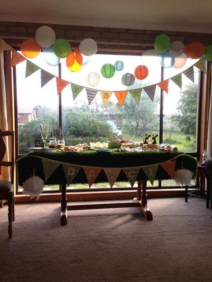 Woodland Inspired Decorated Bday Party