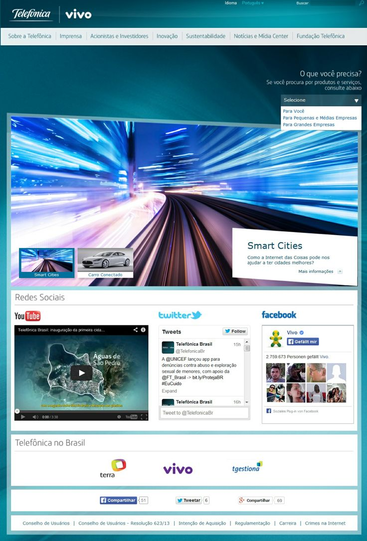 Beautiful Das Unternehmen telefonica vivo in Brasilien konnte mit Hilfe von IBM WebSphereCommerce den Umsatz
