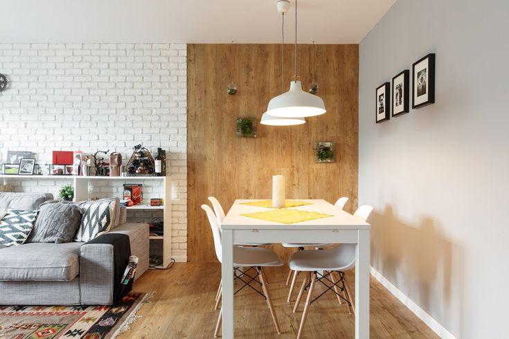 Невъзможно бе да подминем този модерен и уютен апартамент. Това е домът на младо семейство, чиято първоначална цел е била да създадат един модерн