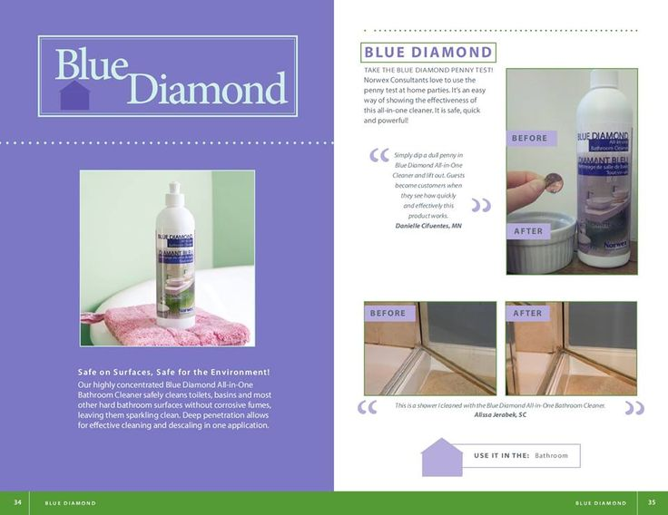 Best Norwex Blue Diamond Descaler CleaningPaste Images On - Best non toxic bathroom cleaner
