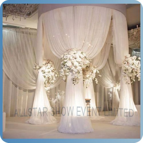 Chinese wholesale draped mandap buy draped mandap for Backdrops wedding decoration