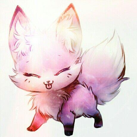 animals fox anime drawing kawaii drawings wolf lightning heart galaxy animal chibi princess mythical puppy creatures neko animated moram jocelyn