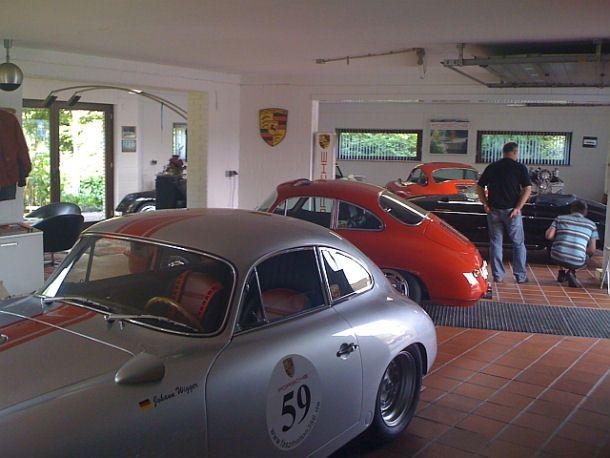 Man Cave Garage Porsche : Garage nice porsche workshop oh if my dear husband mike