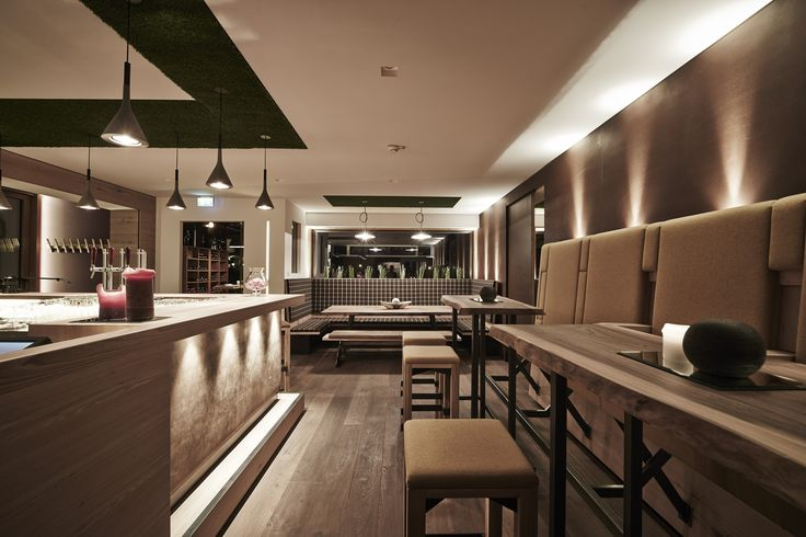 Bar im arx Boutiquehotel // Bar in the arx boutique hotel