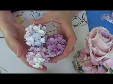 Лист Розы , Молд, Холодный фарфор , Мастер Класс от Риты Часть 2 - YouTube