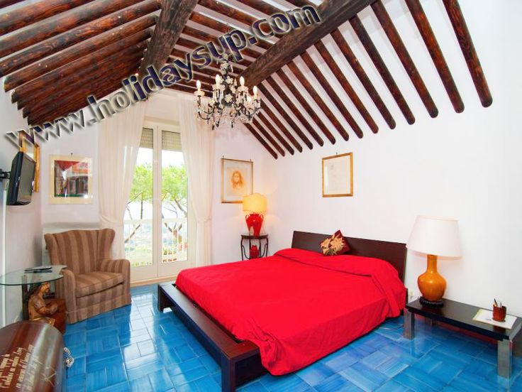 Double bedroom nice villas in amalfi coast bookingvillasorrento Holiday with pool in italy country