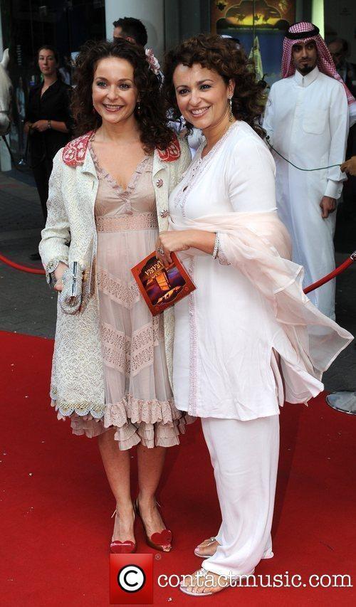 Nadia Sawalha and Julia Sawalha