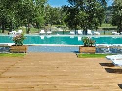 piscine camping isère