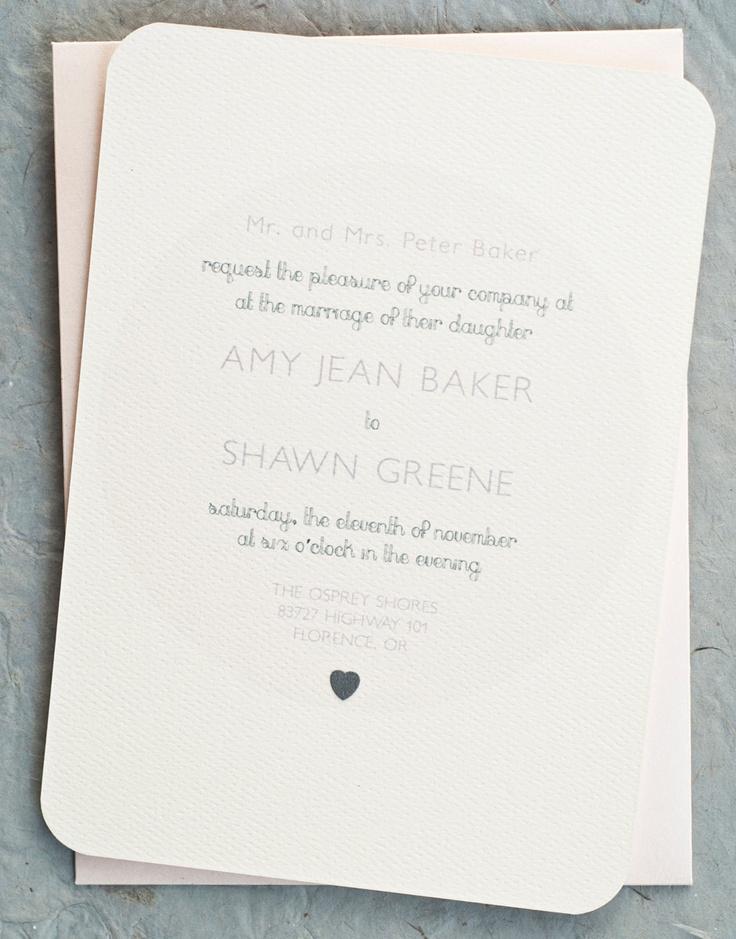 46 best janes wedding invite images on pinterest invitation ideas vintage minimalist wedding invitation cards in soft pink 275 via etsy stopboris Gallery