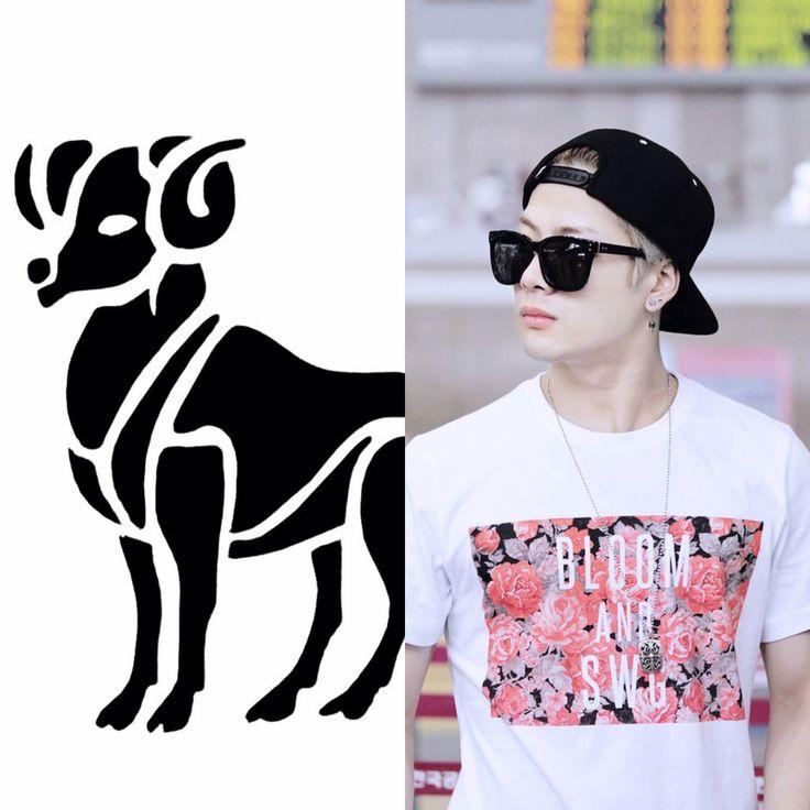 Kpop Zodiac // Aries // Jackson of GOT7