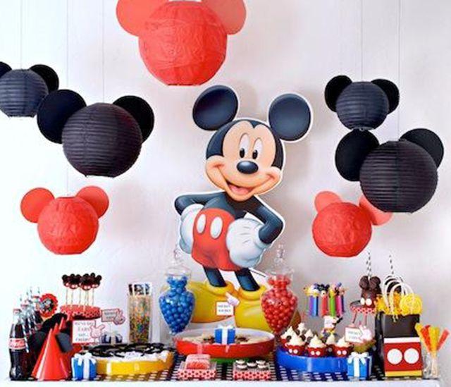 Cumplea os mickey mouse inspiraci n e ideas para fiestas - Ideas para fiestas de cumpleanos infantiles ...