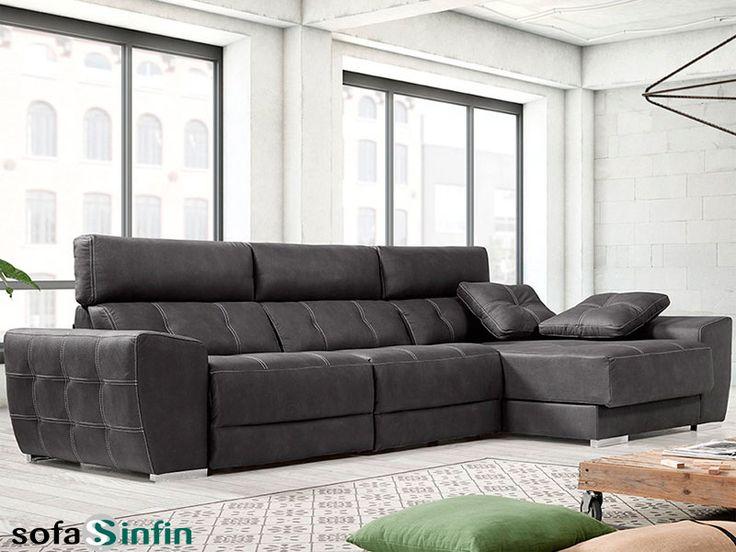 Sofá Relax De 3 Y 2 Plazas Con Chaise Longue Modelo Danco Fabricado Por  Acomodel · LoungerModel