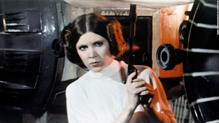 "How sad!!! Actress Carrie Fisher, whose grit and wit made ""Star Wars'"" Princess Leia an iconic and beloved figure to millions of moviegoers, died Tuesday in Los Angeles. She was 60."