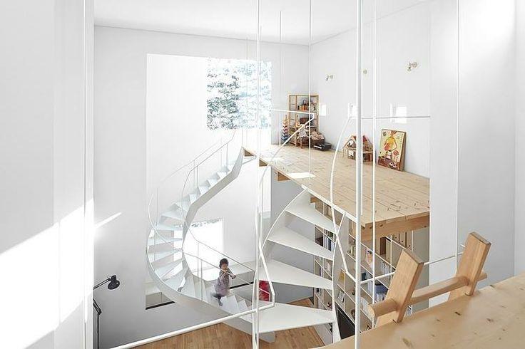 House by Jun Igarashi Architects. Sapporo, Japan. 81m2. 2012.