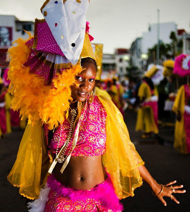 Winter carnival, Pointe-à-Pitre, Guadeloupe