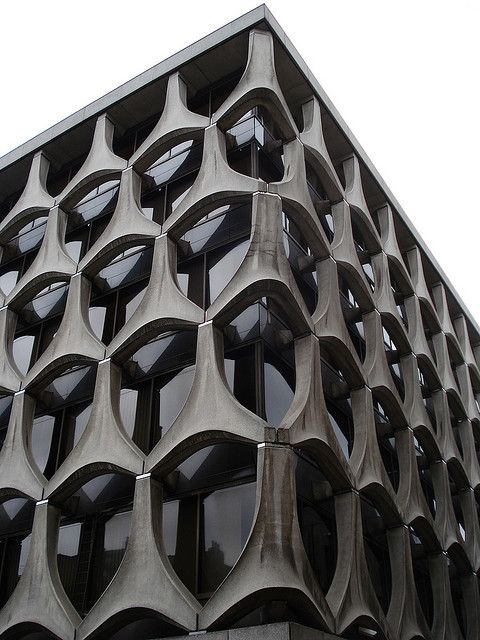 Brutalist in Bruocsella by osixandseven, via Flickr