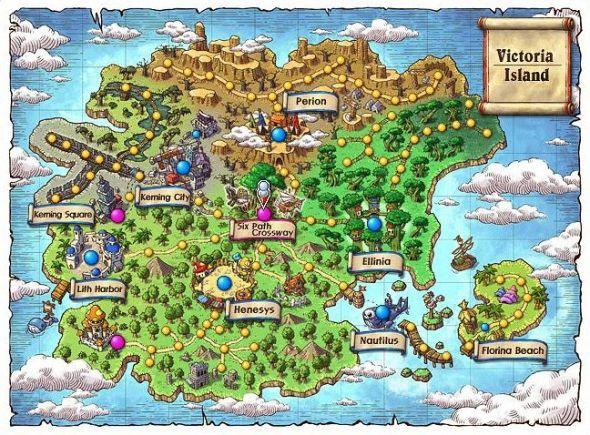Maplestory map