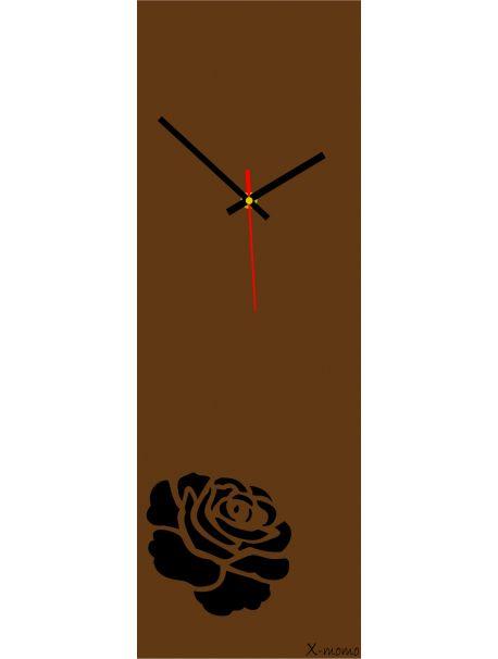 Hodiny na stenu vyrobené z plexiskla, obdĺžnik, farba hnedá ruža  Kód: X12 - Hodiny - RAL8011  Stav: Nový produkt  Dostupnosť: Skladom  Prišiel čas na zmenu ! Dekoračné hodinky oživia každý interiér, zvýraznia šarm a štýl Vášho priestoru . Zútulni si svoje bývanie s novými hodinami. Nástenné hodiny z plexiskla sú nádhernou dekoráciou Vášho interiéru.