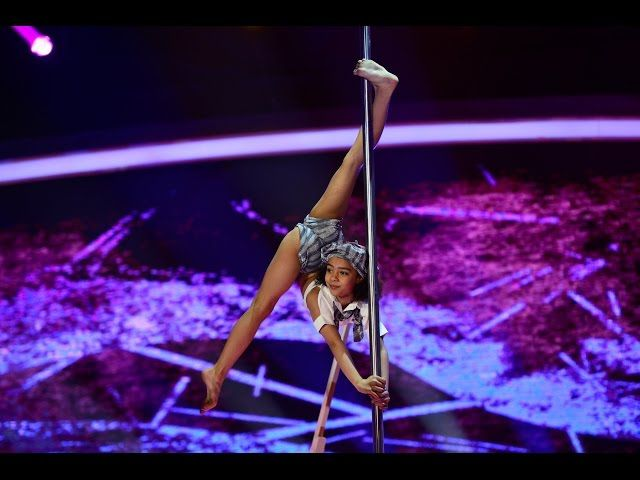 Pole dancing for kids hits the stage