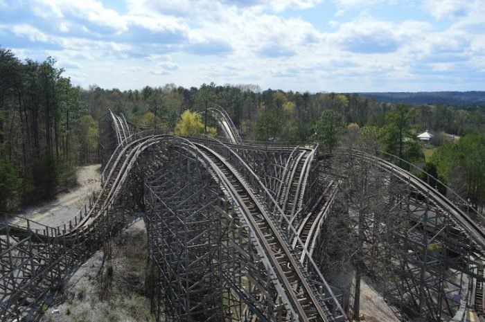 Ride One Of The Best Wooden Roller Coasters In The World Right Here