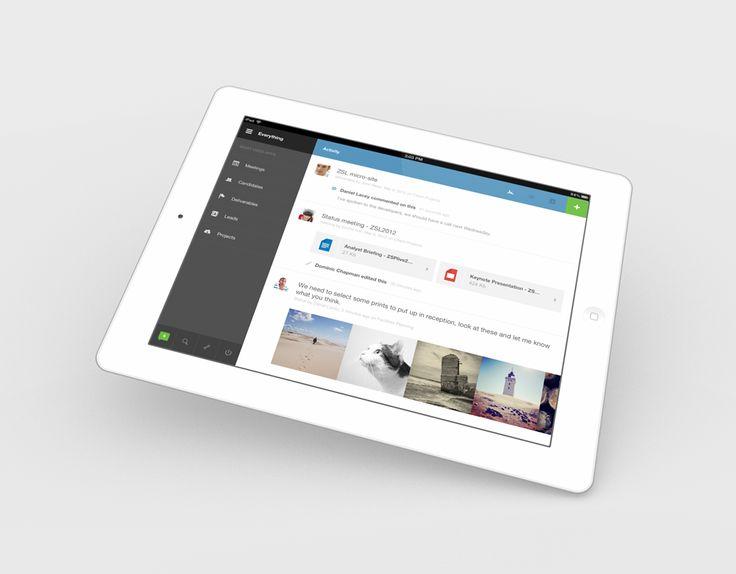 Podio for iPad, now.