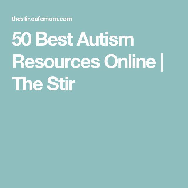 50 Best Autism Resources Online | The Stir