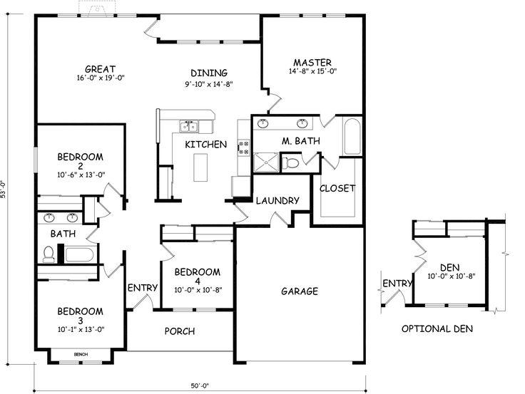 1000 images about cabin plans on pinterest for Hayden homes floor plans