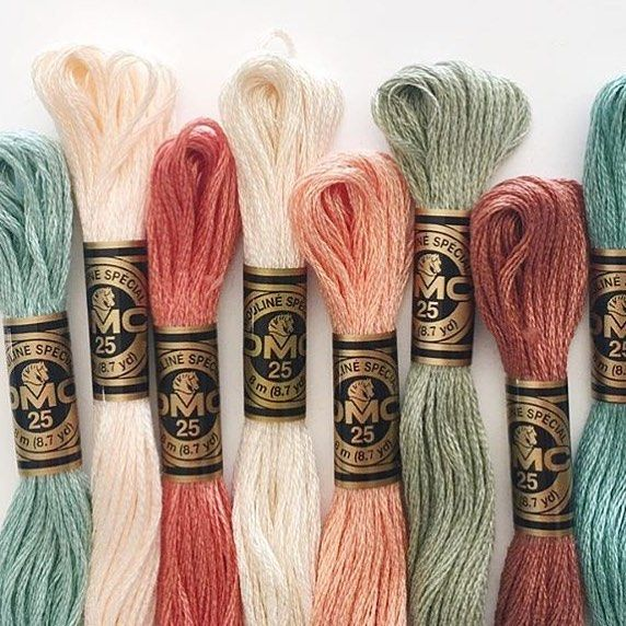 9698ce7a585 Color palette by  sojournerhandmade  dmcthreads  dmcembroidery 504 ...