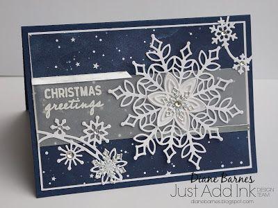 JAI 431 sketch challenge – Snowfall Christmas card
