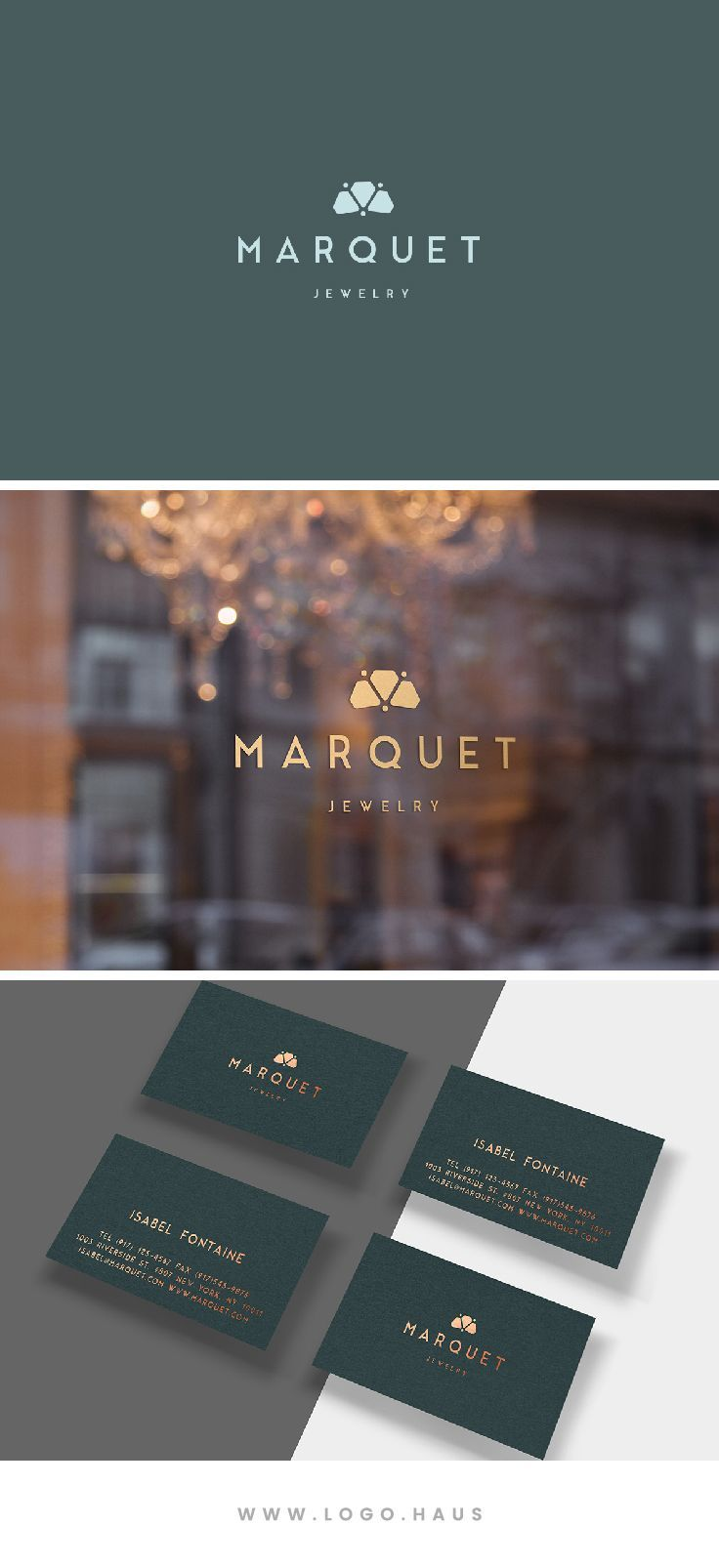 The Marquet Logo Design Kit available from Logo.Haus.