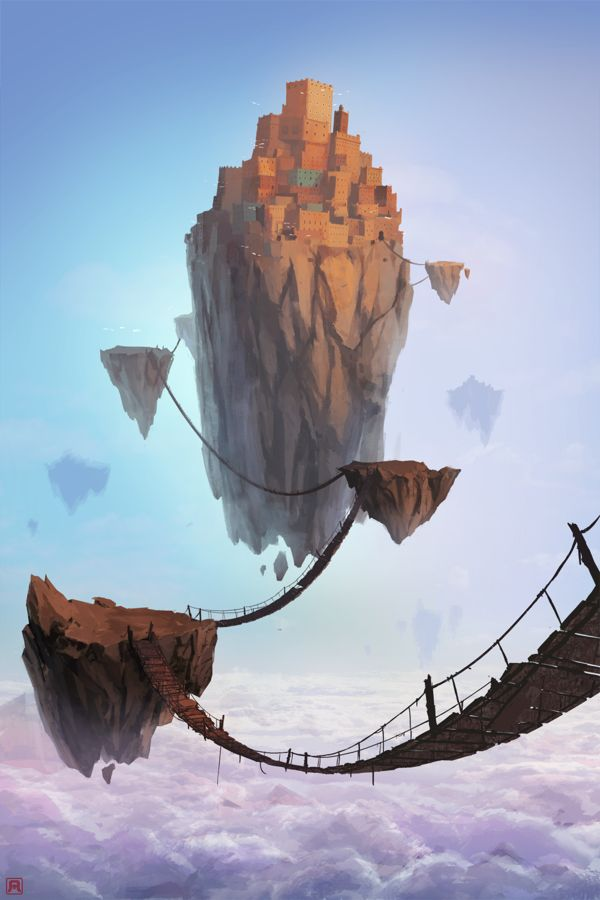 illustration set 1 by Mehdi Annassi, via Behance