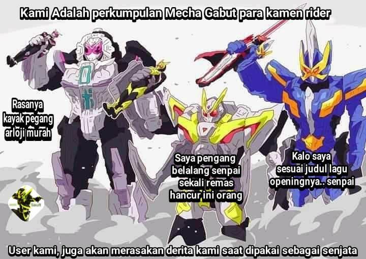 Mecha2 Di Kamen Rider Sumber Facebook Kamen Rider Lagu Kayak